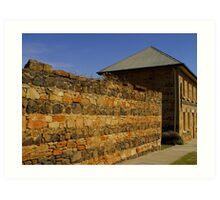 Tas, Heritage building Art Print