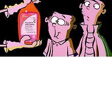 Ed Edd Eddy & Actavis Prometh with Codeine Syrup by spink2kproducts