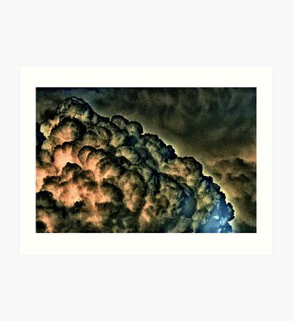 Summer Storm Cloud Art Print