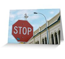 Stop in Freo Greeting Card