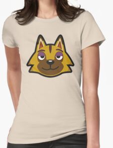 KYLE ANIMAL CROSSING Womens Fitted T-Shirt