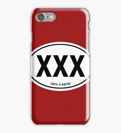 100% X-Rated iPhone Case/Skin