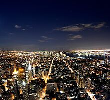 NYC from Empire State Building by Shay Murphy