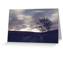 Wicklow Mountains Road Greeting Card
