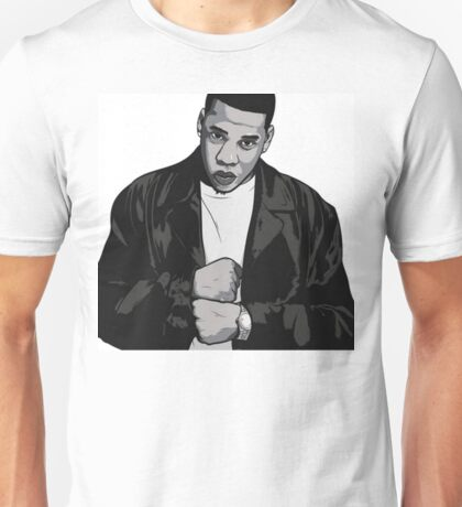 Jay-Z In My Lifetime Cartoon Unisex T-Shirt