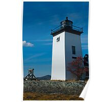 Grindle Point Lighthouse, Islesboro Maine Poster