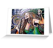 """JANIS - """"Get it while you can"""" Greeting Card"""