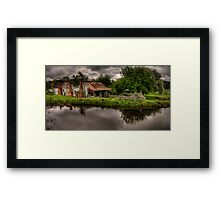 True Blue - Hill End, NSW - The HDR Experience Framed Print