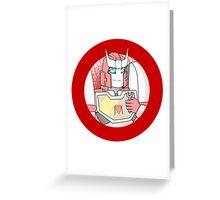 Ratchet 1 Greeting Card