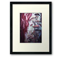 Smoldering Mushrooms Framed Print