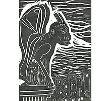 Gargoyle 1 Photographic Print