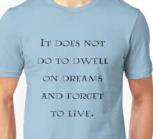 Harry Potter quote Unisex T-Shirt