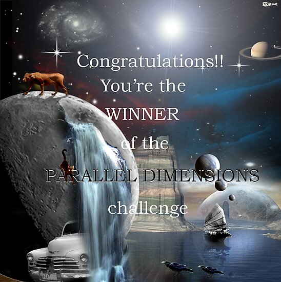 Parallel Dimensions challenge winner banner by Peter Krause