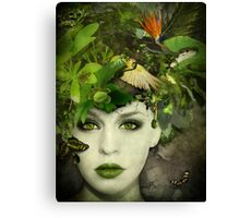 It's A Jungle In There! Canvas Print