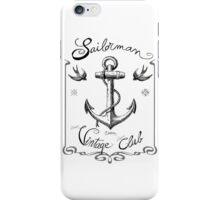 Sailorman - Vintage Club iPhone Case/Skin