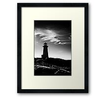 Peggy's Cove Contrast Framed Print