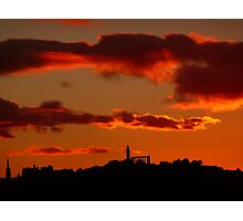 Skyline Sunset Photographic Print