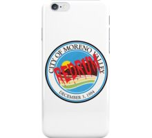 Moreno Valley Redrum iPhone Case/Skin