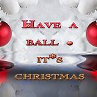 Christmas Balls by Elaine Teague
