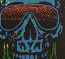 Neon Skull Sticker