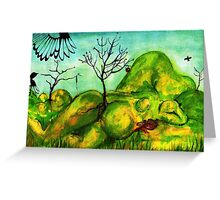 Valley of a Thousand Hills- South Africa Greeting Card
