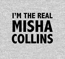 I'M THE REAL MISHA COLLINS Black Unisex T-Shirt