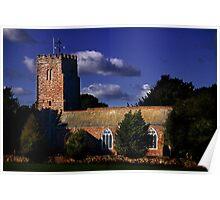 Powderham Church Poster