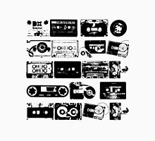 Audio tapes Vintage Black and white Unisex T-Shirt