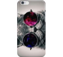 Cool Cat W/ Glasses iPhone Case/Skin