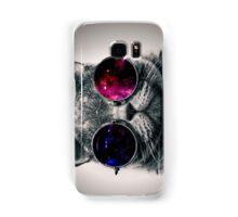 Cool Cat W/ Glasses Samsung Galaxy Case/Skin