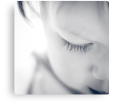 ...lashes... Canvas Print