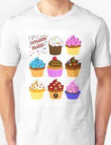 Cupcakes crazzz T-Shirt
