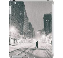 Snowstorm - New York City iPad Case/Skin