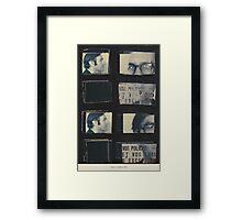 miron / octobre 1970 Framed Print