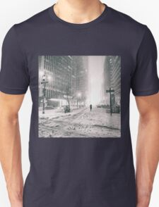 New York City - Winter - Empty Streets T-Shirt