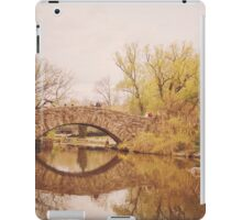 Beautiful Springtime Landscape - Central Park - New York City iPad Case/Skin