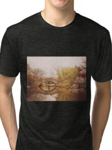 Beautiful Springtime Landscape - Central Park - New York City Tri-blend T-Shirt
