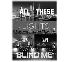 Drag me Down- One Direction Lyrics Photographic Print