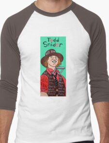 Todd Snider Pop Folk Art Men's Baseball ¾ T-Shirt