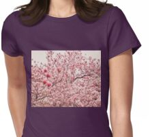 Cherry Blossoms Womens Fitted T-Shirt