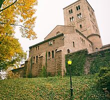 Autumn - Cloisters - New York City by Vivienne Gucwa