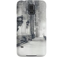 Winter Night - Snow Falls in the Big Apple - New York City Samsung Galaxy Case/Skin
