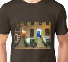 Red Door and Blue Door - New York City Unisex T-Shirt