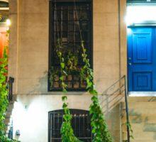 Red Door and Blue Door - New York City Sticker