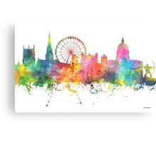 Nottingham England Skyline Canvas Print