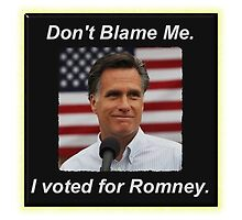 I Voted Romney by lawrencebaird