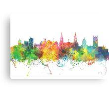 Leeds, England Skyline Canvas Print