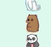 we bare bears by cinnitea