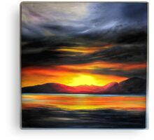 Fantasy Seascape. Canvas Print