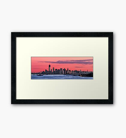 Good Morning, New York! Framed Print